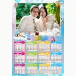 Календар еднолистен 33х48 Модел 10