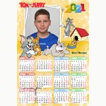 Календар еднолистен 33х48 Модел 21