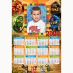 Календар еднолистен 33х48 Модел 52