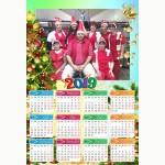 Календар еднолистен 33х48 Модел 53