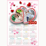 Календар еднолистен 33х48 Модел 63