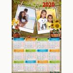 Календар еднолистен 33х48 Модел 69