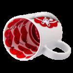"""Чаша с червени сърца """"LOVE"""""""