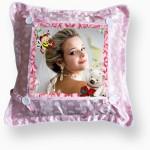 Розова възглавничка 37х37