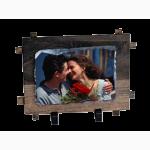 Камък със снимка с рамка 11x16